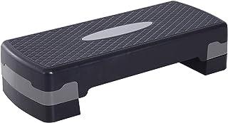HOMCOM stepboard aerobic fitness hometrainer stepper in hoogte verstelbaar