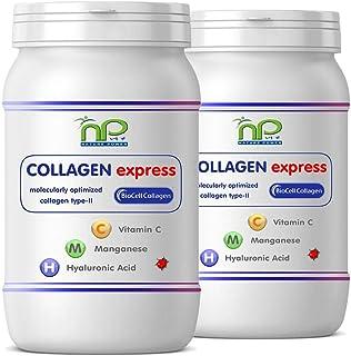 Collagen Express o Biocell Collagen® en cápsulas (con colágeno-II. ácido hialurónico. vitamina C y manganeso) 1000 mg