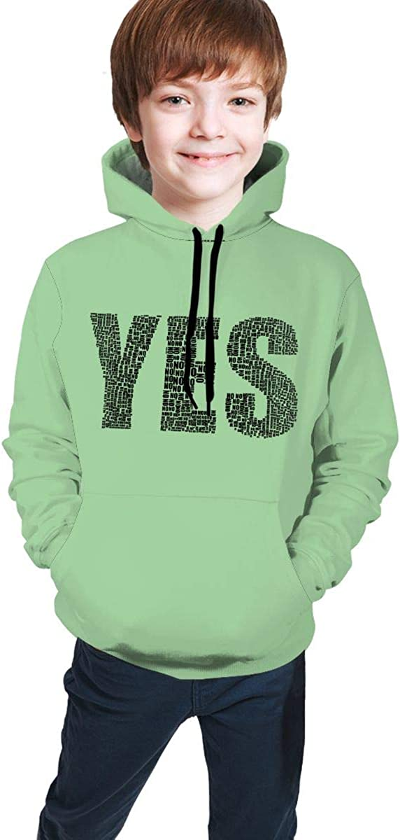 ENJYOP Kids Pullover Hoodies Casual Hooded Sweatshirts Tops with Pocket for Teen Boys Girls001