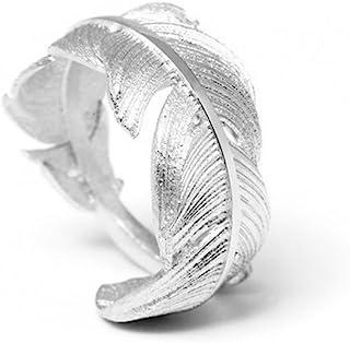 anello pandora piuma oro