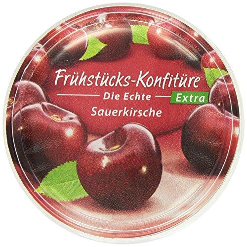 Zentis Frühstücks- konfitüre Sauerkirsc, 8er Pack (8 x 200 g)