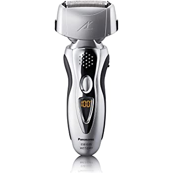 Panasonic Electric Shaver and Trimmer for Men ES8103S Arc3, Wet/Dry with 3 Nanotech Blades and Flexible Pivoting Head