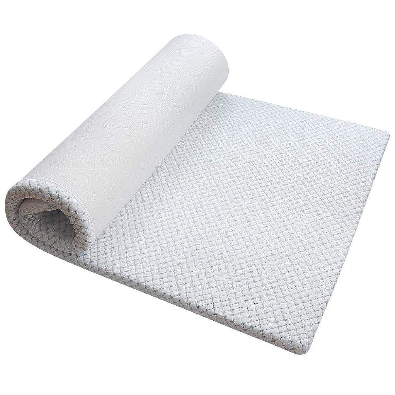 勝者費用尋ねるMyeFoam マットレス 高反発 シングル 厚さ4cm 敷き布団 ベットマット 三つ折り 高密度ウレタンマット 寝具 ごろ寝マット 体圧分散 腰楽 通気性 快適睡眠 洗える 収納袋付き