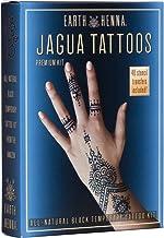 Organic Jagua Black Temporary Tattoo and Body Painting Premium Kit
