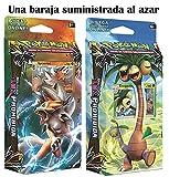 Pokémon mazos temáticos expansión SOL Y LUNA original castellano marea luminosa