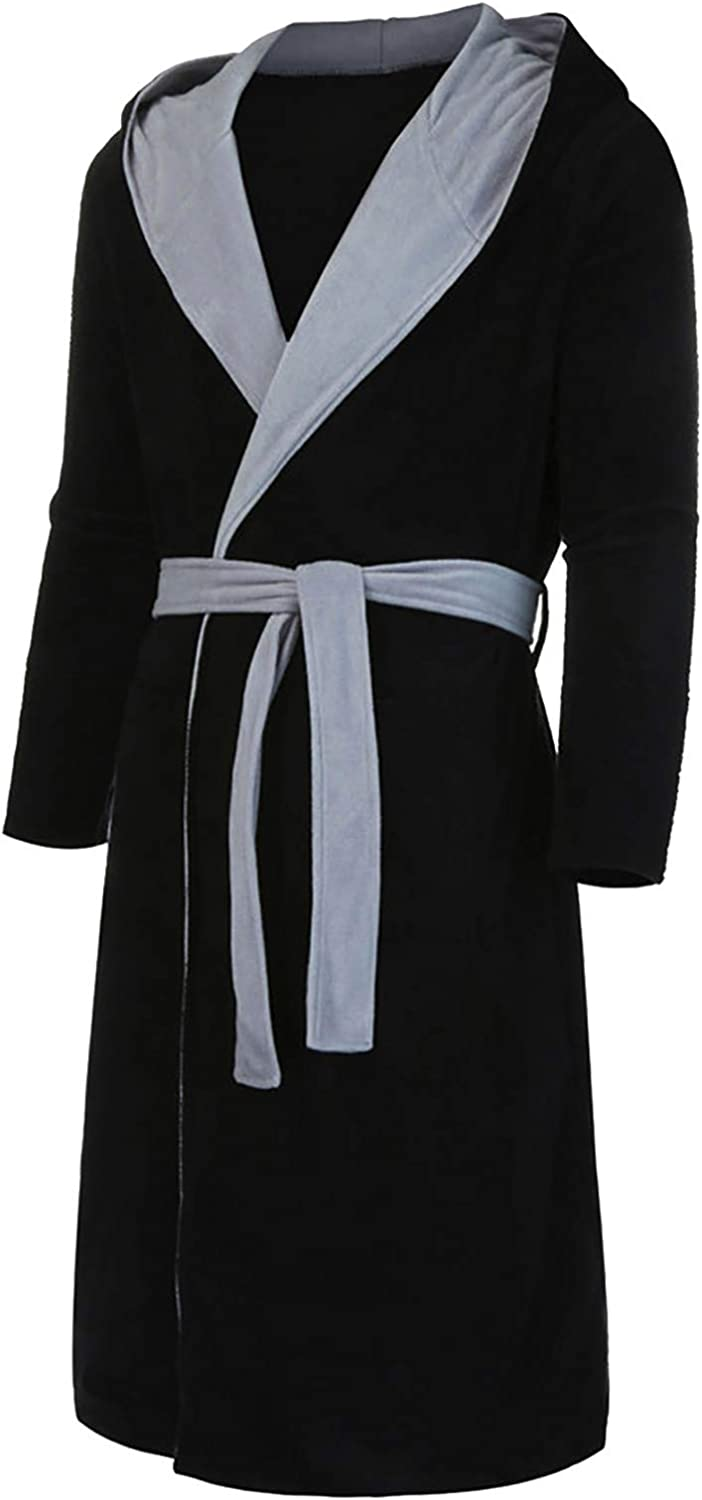 Men Robes Soft Lightweight Size Length Full Robe,Plus Large discharge sale Oklahoma City Mall