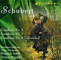 Schubert;Symphonies 3,5,8