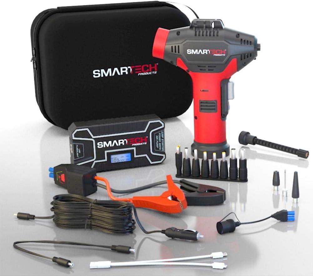 Smartech Power Kit 12000mAh Lithium Max 41% OFF Amp Battery 500 Award 12v Car