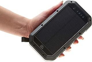 Lit Wireless Solar Power Bank 20,000 mAh Battery