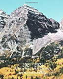 2021 - 2022 18 Month Weekly & Monthly Planner July 2021 to December 2022: Maroon Bells - Elk Mountains Colorado Monthly Calendar with U.S./UK/ ... 8 x 10 in. Colorado Travel For Business