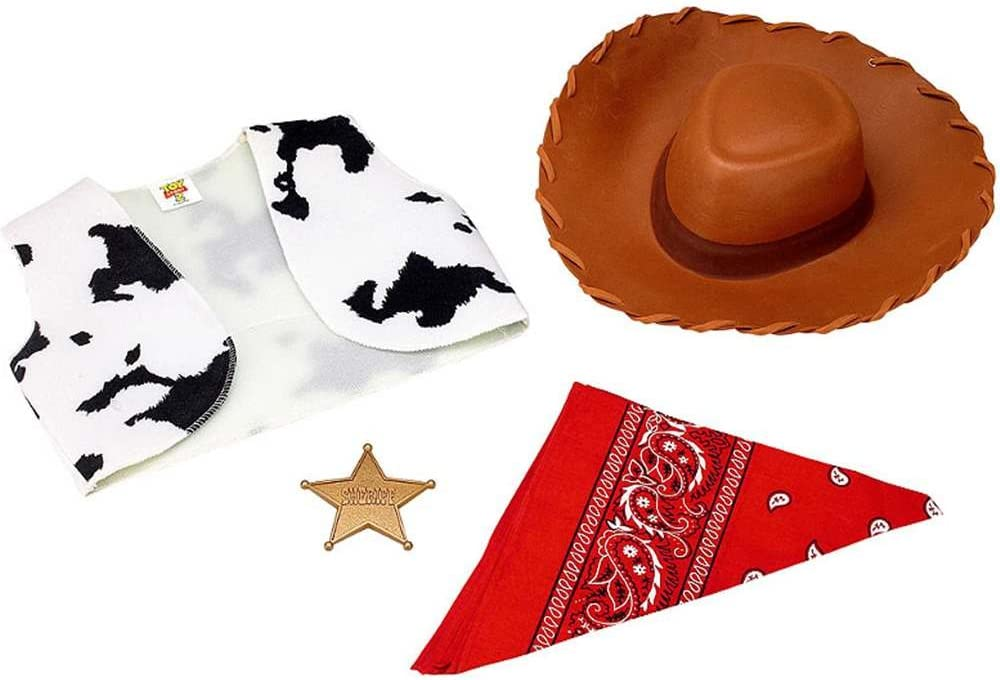 Year-end annual account Ranking TOP16 Disguise Disney Toy Story Beyond Woody Costume Accessory Kit