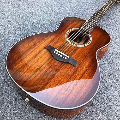 ABMBERTK , Gitarre, Akustikholzgitarre, 41 Zoll, K24 Koa Akustikgitarre, Gitarre und Koffer, 41 Zoll