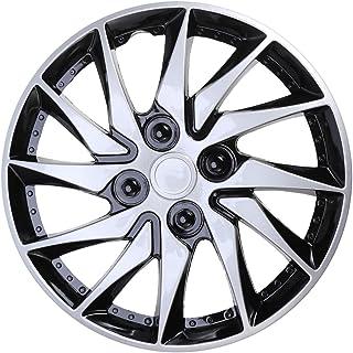 CLISPEED Radkappen, 14 Zoll, für Felgen, für Auto, Fahrzeug, Reifen, Ersatzzubehör, Silber
