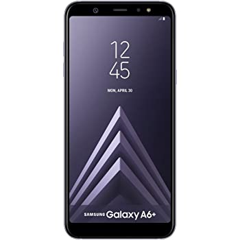 "Samsung Galaxy A6 Plus - Smartphone libre Android 8,0 ( 6"" FHD+), Dual SIM, Cámara Trasera 16MP + 5MP Flash (3 nivles) y Frontal 24MP + Flash, Violeta, 32 GB 6"" - Versión española"