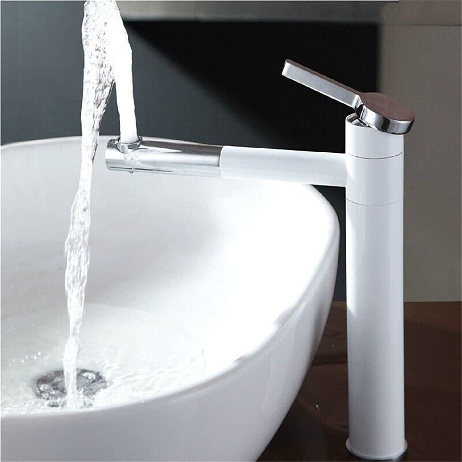 Kitchen Mixer Tap GQLB kitchen sink basin mixer tap the nozzle hot and cold resistance to oxidation basin mixer tap