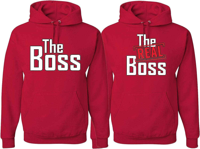 The Boss The Real Boss sweater Set Lips Kiss Couple matching sweater set P\u00e4rchen couple The Real Boss sweater Tees Boss Couple sweater 110