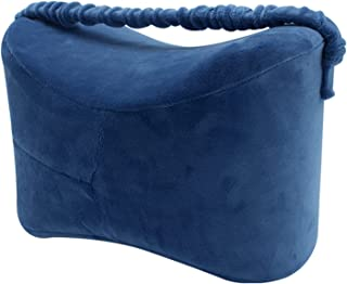 Oreillers de genou, coin pour dormeurs latéraux, mousse de mémoire 100% pure, soulagement de la douleur apaisante pour la ...