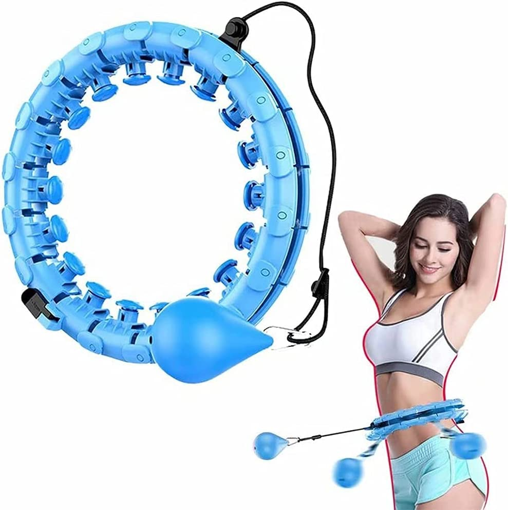 Smart Hula Hoop Bargain Abdomen Choice Fitness Detachable Knots A 24 Equipment