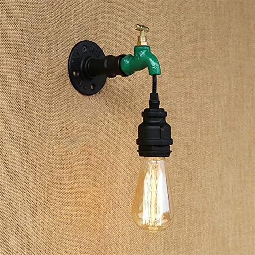 Lámpara De Pared Retro Industrial Creativa, Luz De Pared Para Grifo De Tubería De Agua E27, Iluminación De Pared, Bar, Restaurante, Aplique De Pared, Decoración Del Pasillo
