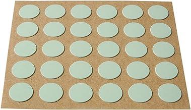 Brinox afdekkap voor schroeven, zelfklevend 30 schijven grijs