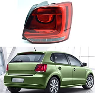 Clidr Rear Tail Light For VW Polo 6R Hatchback 2009 2010 2011 2012 2013 Lamp Car Styling Accesories Passenger Side (Right)