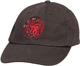 Game of Thrones Targaryen Dragon Sigil Strapback Baseball Cap Hat