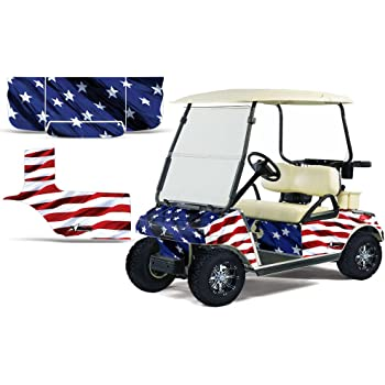 Golf Cart Logo Decal Set Fit Ezgo Club Car Yamaha And Others
