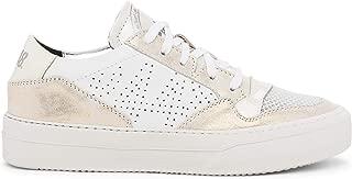 Women's Spacelow White Italian Leather Sneaker