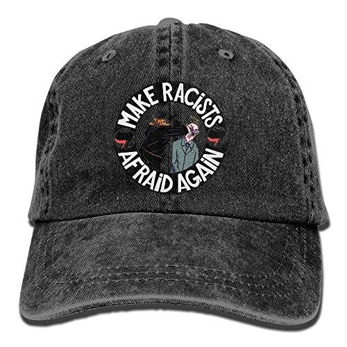 gatetop Haz Que los racistas vuelvan a Tener Miedo al Sombrero de algodón Ajustable