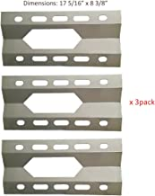 BBQ funland SH1281 (3-pack) Stainless Steel Heat Plate for Nexgrill, Costco Kirkland Select Gas Grill