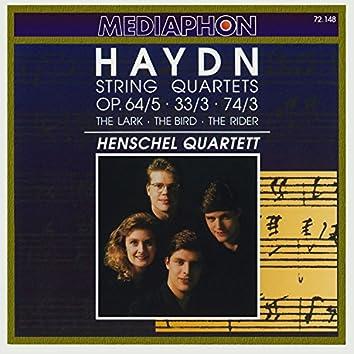 Haydn: String Quartets - The Lark, The Bird & The Rider