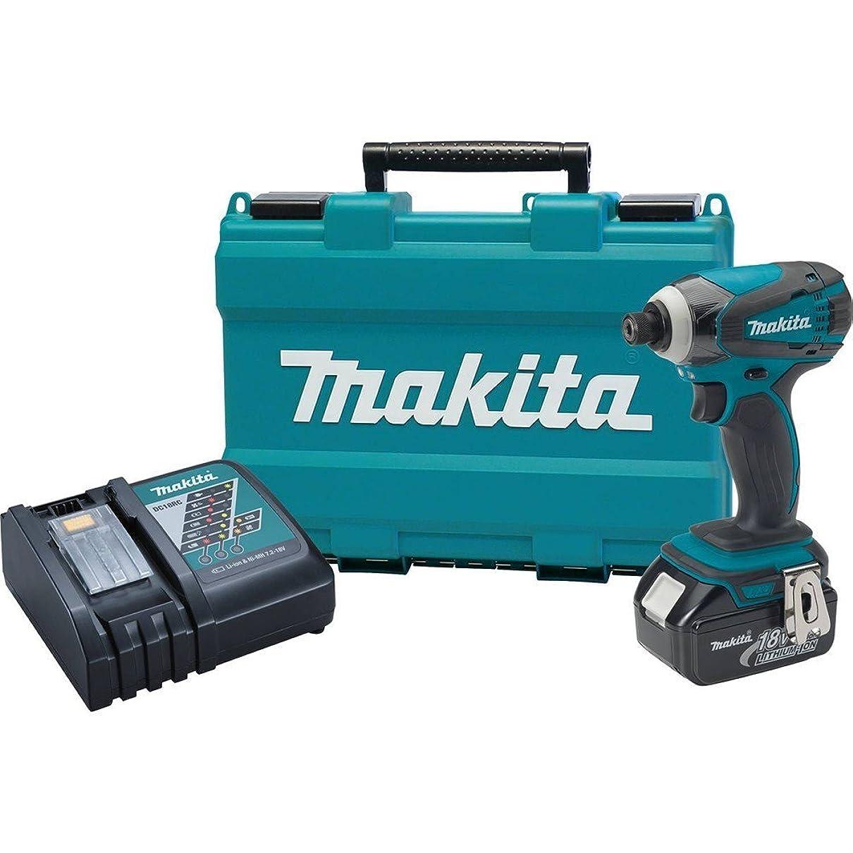 財布寄付するすずめMakita XDT042 18V LXT Lithium-Ion Cordless Impact Driver Kit by Makita [並行輸入品]