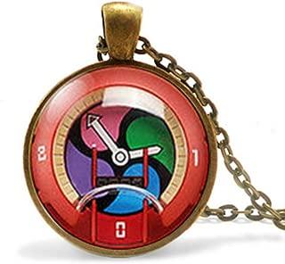 calhepco JP Yokai Yo-Kai Youkai Watch Anime Cosplay Medal Plush Pendant Chain Gift Idea Jewelry Men Women