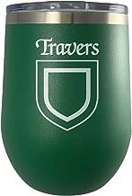 Travers Irish Coat of Arms Stemless Wine Travel Tumbler