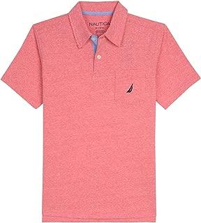 salmon color shirt