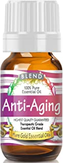 Pure Gold Anti-Aging Blend Essential Oil, 100% Natural & Undiluted, 10ml