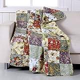 Greenland Home Blooming Prairie Throw Blanket, Full, Multi