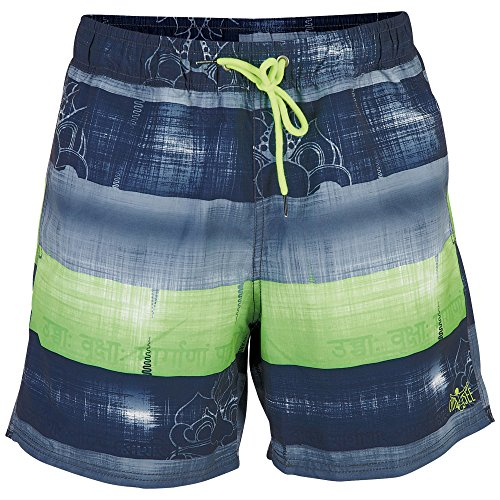 Chiemsee Herren Efisio Swimshorts, Block Green, L