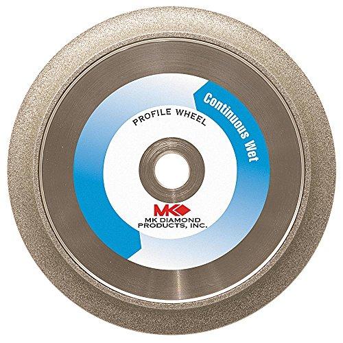 MK Diamond 154026 MK-275 8-Inch 1/2-Inch Radius Electroplated Profile Wheel