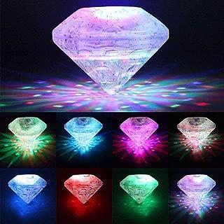 Con dise/ño de Ailiebhaus Unterwasserlicht LED-iluminaci/ón de la piscina 5 diferentes tipos de luz bola del disco de la luz de luces luz bajo el agua flotando demostraci/ón de la luz del partido