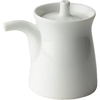 白山陶器 G型しょうゆさし 小 白磁サイズ:直径5.6×高さ7.2cm