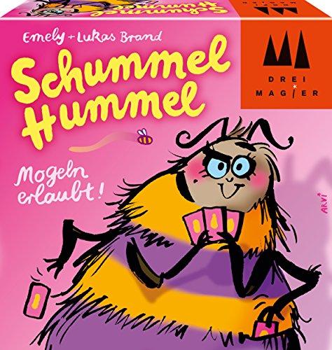 Schmidt Spiele 40881 Schummel Hummel, Drei Magier Kartenspiel