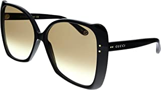 Gucci GG0471S Shiny Black/Brown Gradient One Size