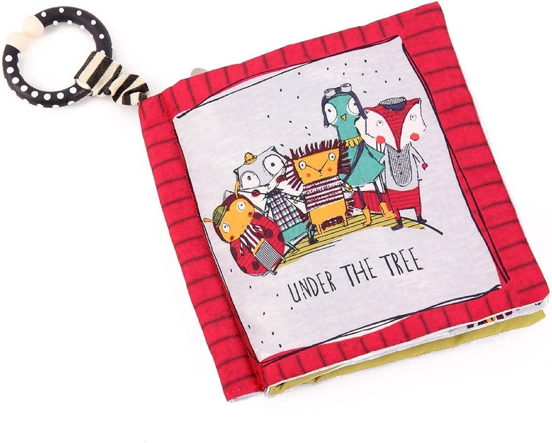 los últimos modelos NuoEn Libro de de de Tela de Tacto y Tacto Ultra Suave para el bebé, Libros para Niños pequeños de Libros en 3D, esclarecedor, identificación de Habilidades, Libro Lindo Libro Ocupado para Niños pequeños  opciones a bajo precio