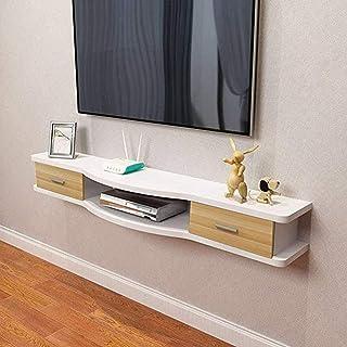 SXFYWJ Mueble Bajo TV Salon Armario Mesa Cerezo Estrecho Mesas Televisión De Muebles Nogal Roble Televisor con Estanteria ...
