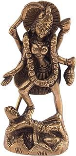 Indian Handicrafts Export Kali Maa Sculpture | Murti | Adi Shakti Ma | Goddess Kali | Brass Idol | Murti