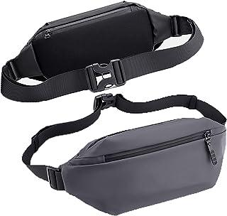 Fanny Pack, Rumanle Waist Bag For Women & Men Fashionable Waterproof Fanny Bag For Running Crossbody Bag with Adjustable S...