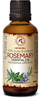 Sponsored Ad - Rosemary Essential Oil 1,7oz - Rosmarinus Officinalis - Spain - 100% Pure & Natural Rosemary Oil - Best for...