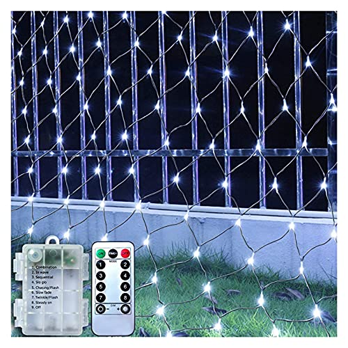 Bfuns 100 LED de la red eléctrica de la batería 1,5 m...