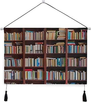 Tapiz para libros de cocina en biblioteca Estantería Tapices ...